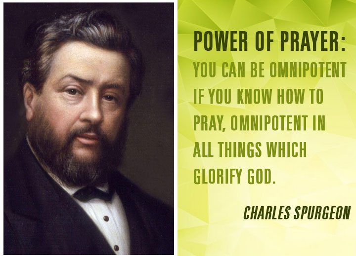 Power of prayer: You can be omnipotent if you know how to pray, omnipotent in all things which glorify God.