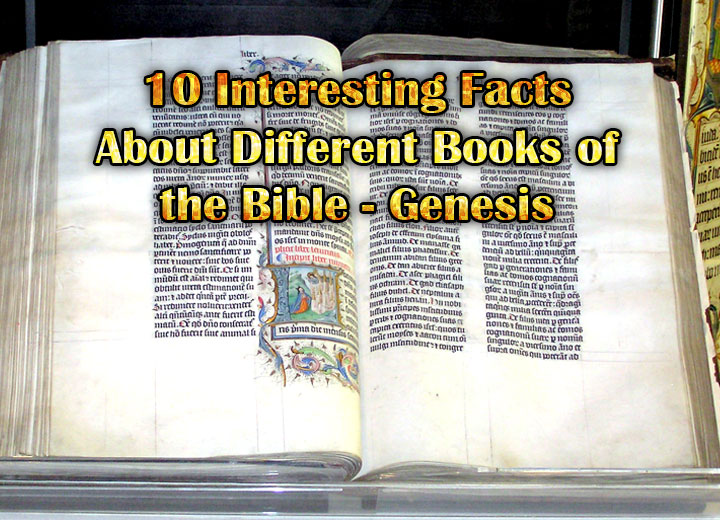 Photo of 10 Interesting Facts About Different Books of the Bible – Genesis