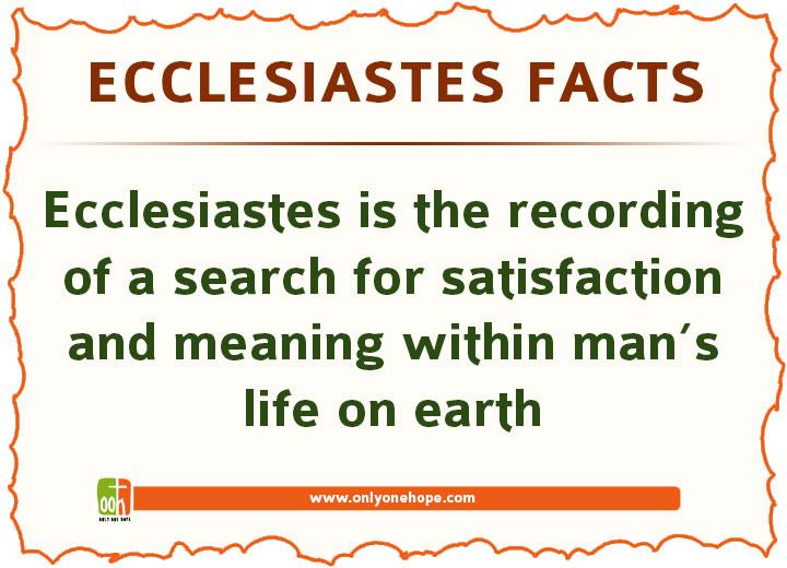 Ecclesiastes-FACTS-3