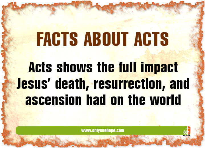 Facts About Acts