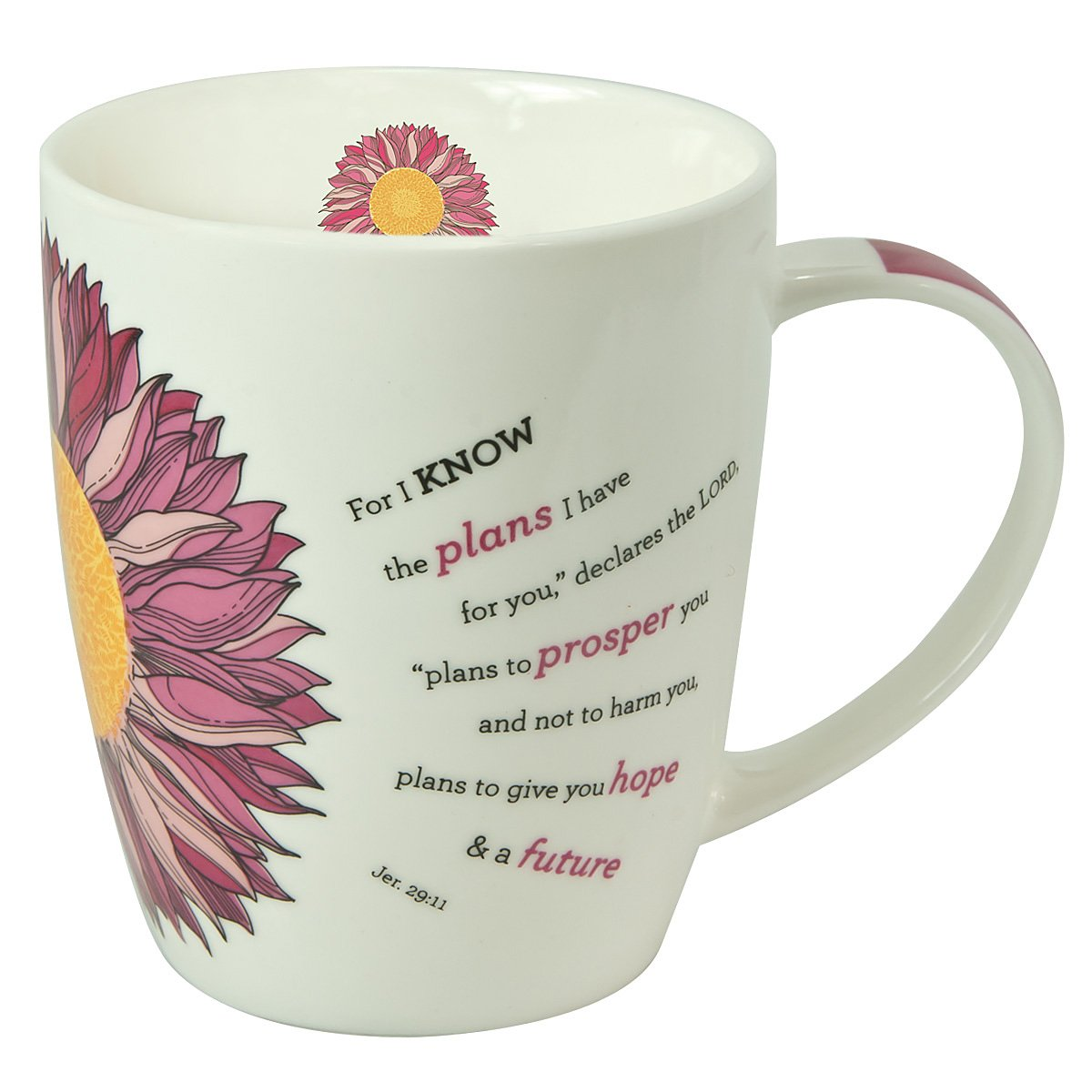 Christian Art Gifts Flower Power Inspirational Mug