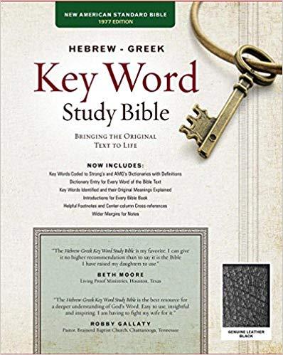 NASB-77 Hebrew-Greek Key Word Study Bible