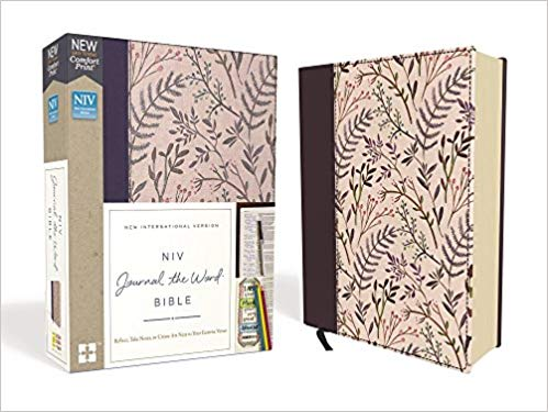 NIV     Journal the Word     Pink Floral